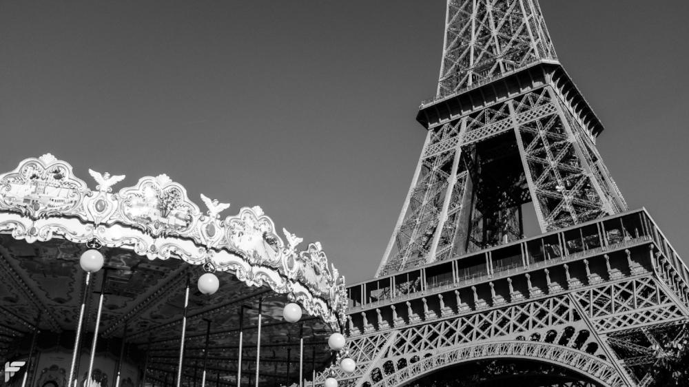 Fuji X100F - Eiffel Tower, Paris