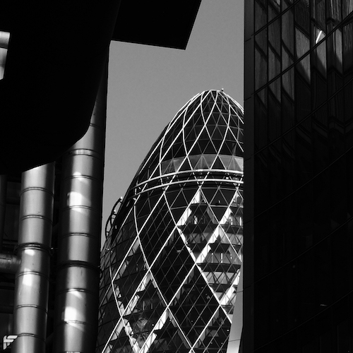 The Gherkin, London - Fuji X100F
