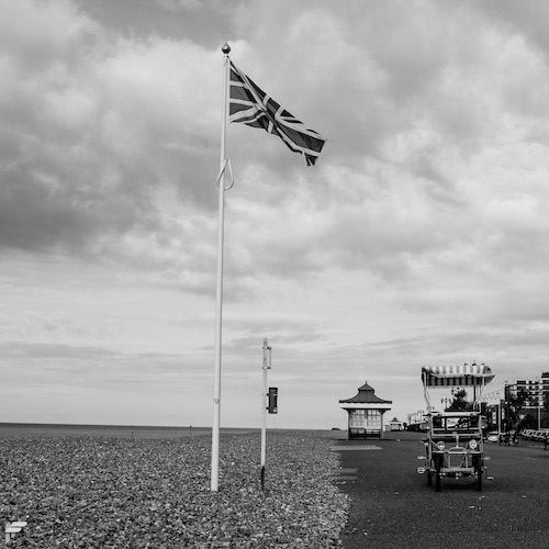 Fuji X00F - It's important to have the right wheels at the seaside