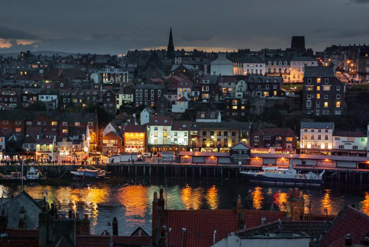 Whitby at Dusk by Barrie MacJannette
