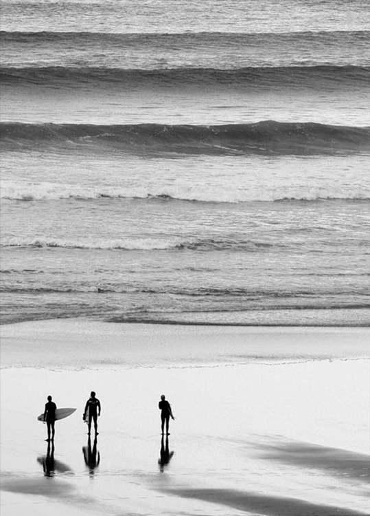 Surfers by Jane Rowland
