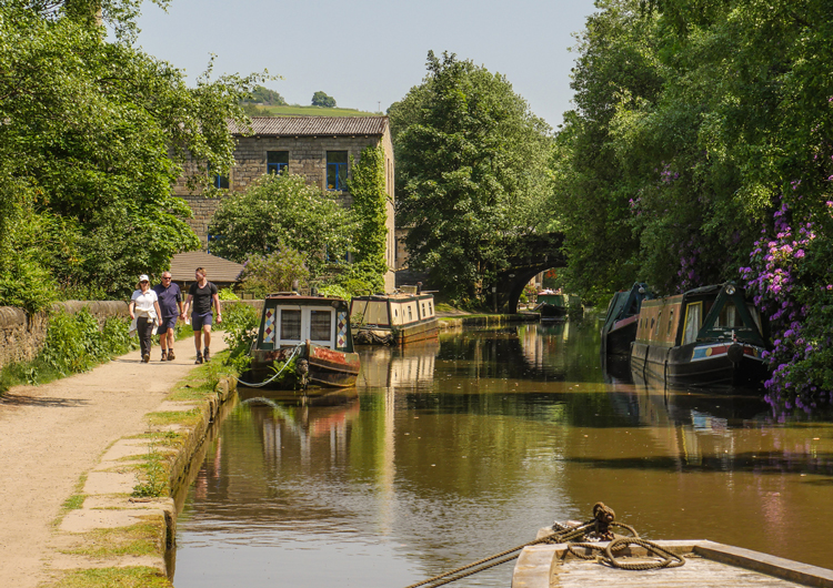 The Tow Path, Hebden Canal