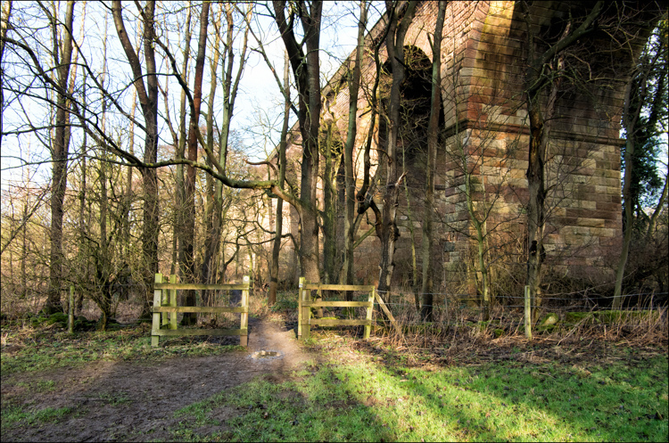 The Old Crimple Viaduct