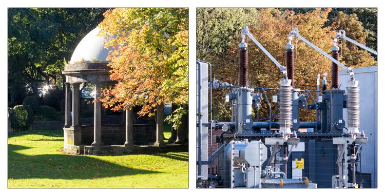 Autumn Contrasts in Harrogate