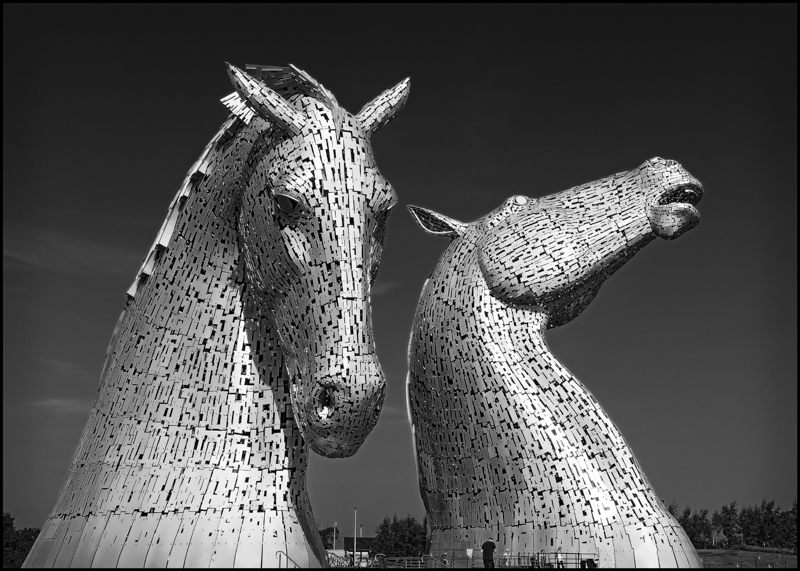 Kelpies, Scotland