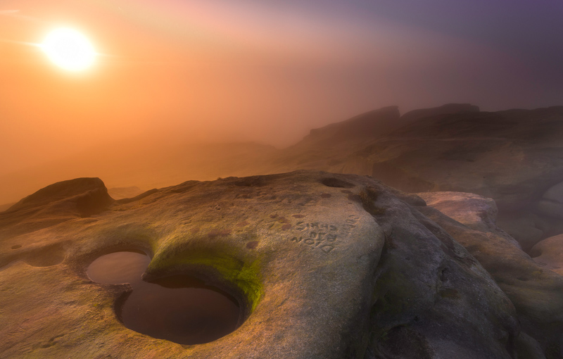 Dawn on Planet Almscliffe
