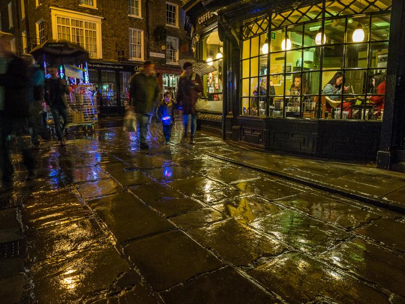 A Wet Night in York