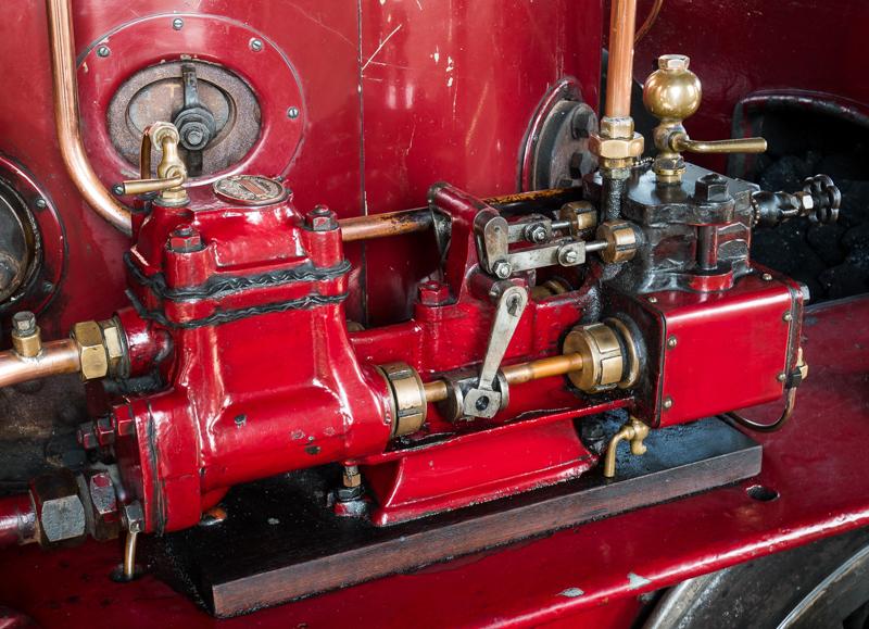 Valve Gear on a Steam Locomotive
