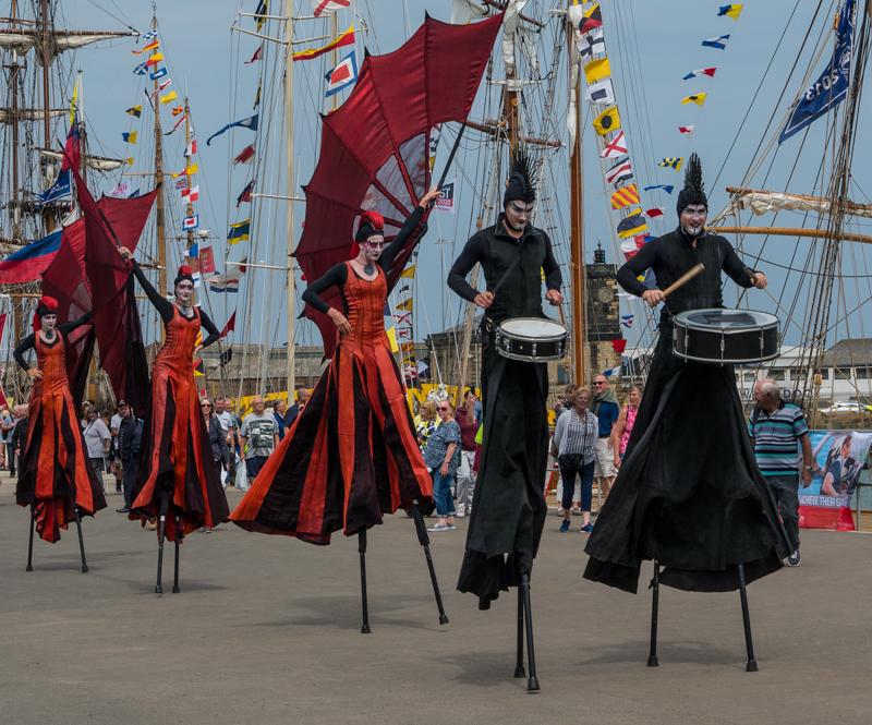 Stilt Performers in Hartlepool