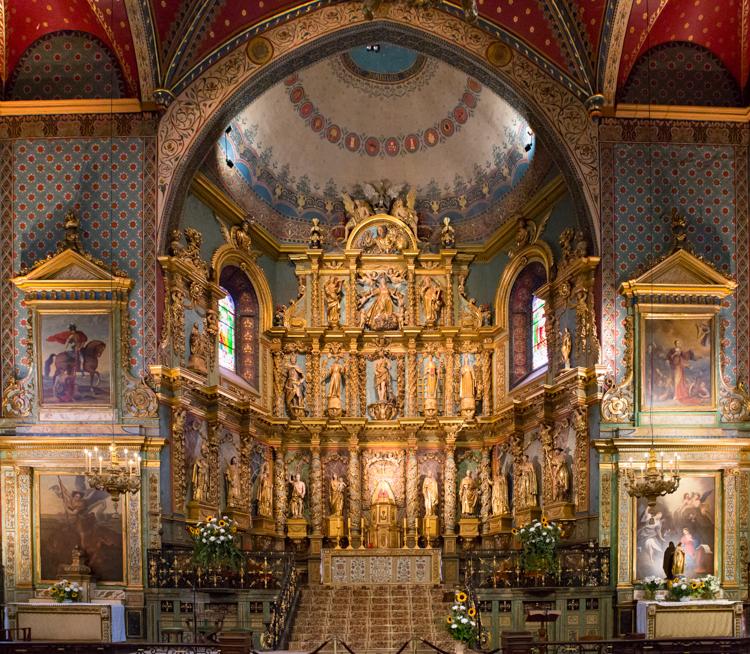 Église Saint-Jean-Baptiste by Regina Wilkinson