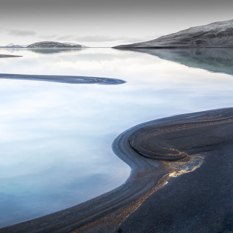Volcanic shore by Katrina Brayshaw