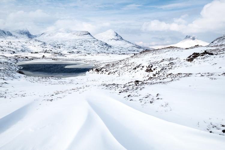 Snowdrifts by Katrina Brayshaw