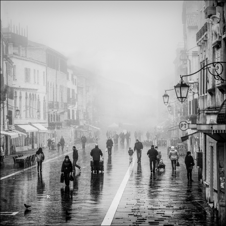 Misty Morning by Eric Begbie
