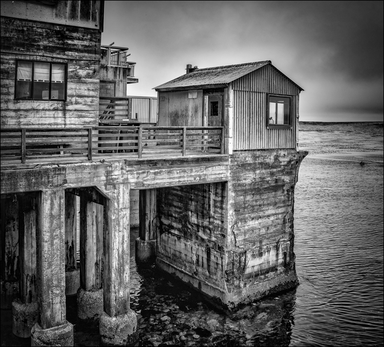 The End of the Pier by Eric Begbie