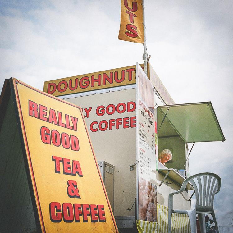 Doughnut Kiosk, Kilnsey Show 2018 by Simon Hill