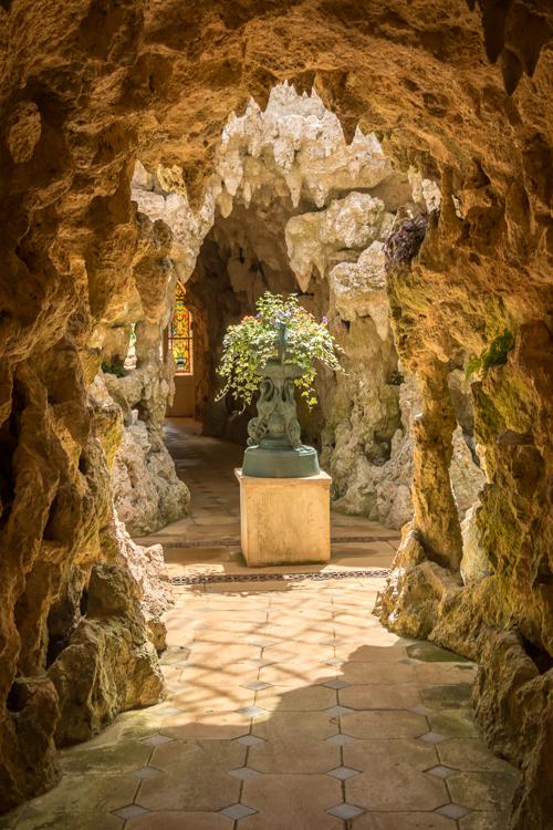 Grotto and Fernery, Shuttleworth Garden by Robert Steemson
