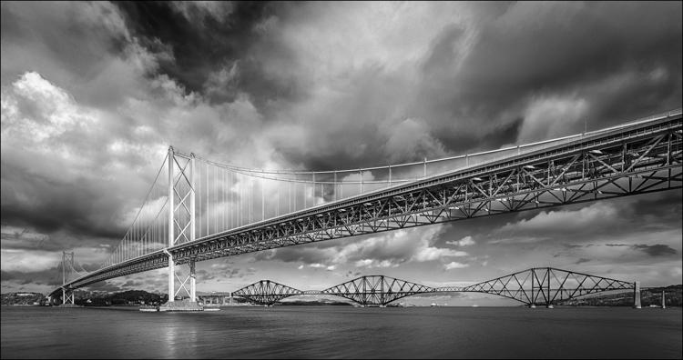 Two Bridges by Eric Begbie
