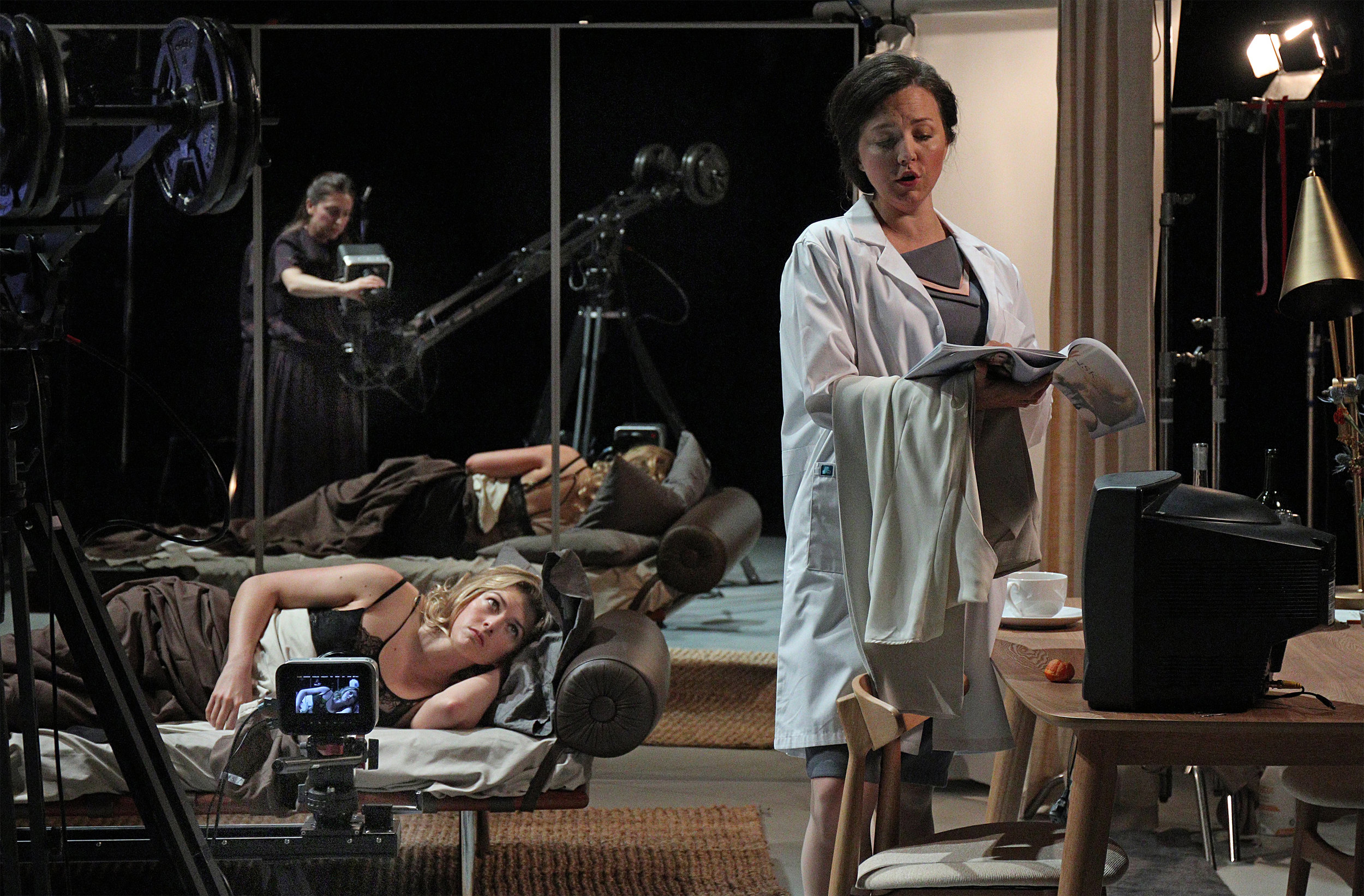 Persona - after the film by Ingmar Bergman, opens in November at LA Opera / Redcat