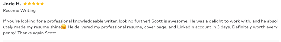 Resume writing professional near Tarpon Springs review