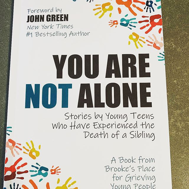 What an AMAZING resource for grieving kids, and a true honor to share space on the the back cover with these inspiration warriors. #childrensgrief  #brookesplace #grievetogether  #kidshelpingkids