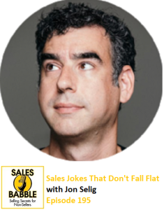 "Was delighted to guest on "" Sales Babble "", a sales podcast for non-sales people, with all-around swell guy  Pat Helmers !"