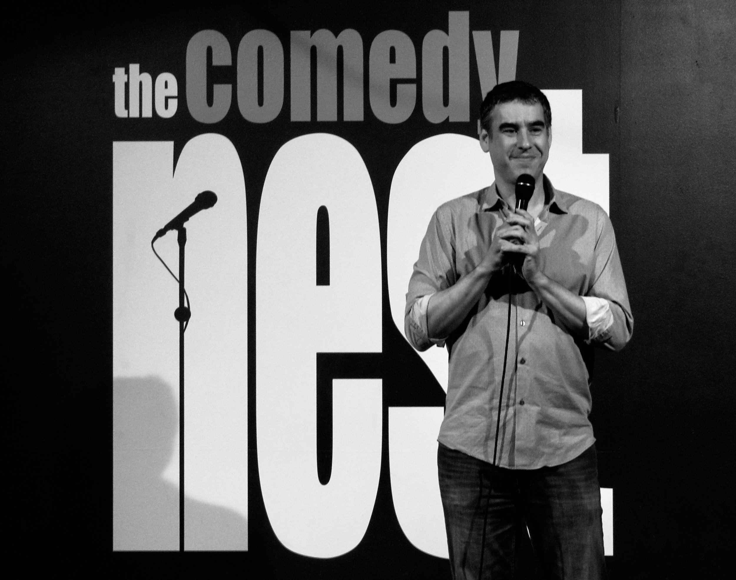 My 12 years in sales was a well-paid internship for my career in stand-up comedy…