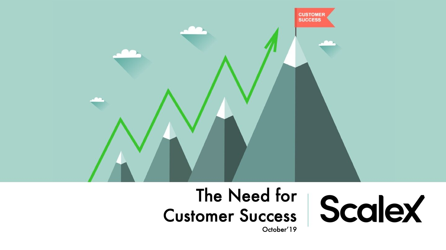 - Thought provoking article on how customer success may change everything about how your business works.