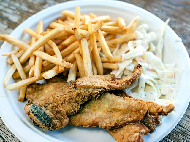 Fish Platter w/ Fries and Slaw