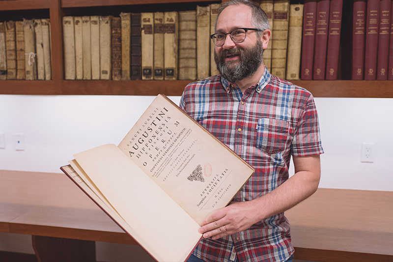 Patrick Cates shares a favorite book from the collection at The Library of The General Theological Seminary