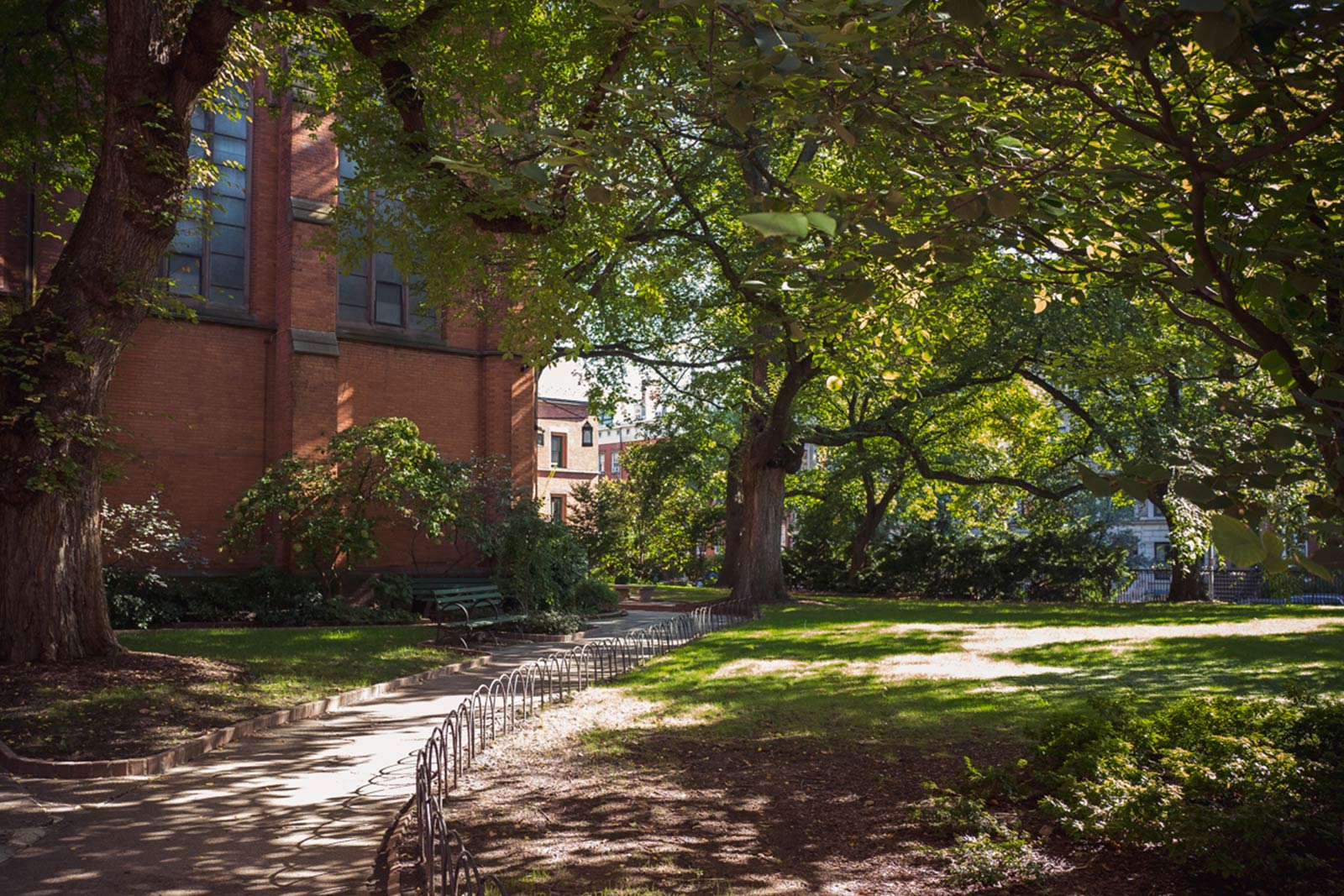 In the Heart of the City - Complimenting the beauty of the Close is its location. Being in the heart of the city allows you the opportunity to go out and engage in anything that New York City has to offer, and then return home to the Close where you'll feel at peace and ready to relax, study, learn and live in community.