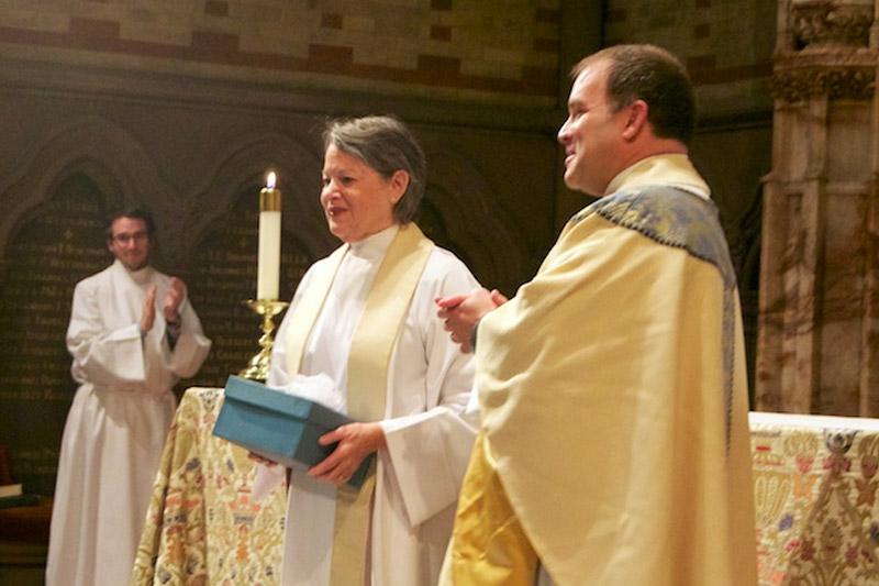 The 2014 Distinguished Alumni Award Winner, The Rev. Margaret A. Muncie
