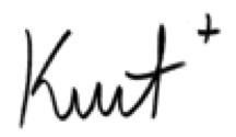 Kurt Dunkle first name signature
