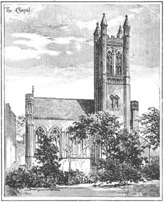Chapel lithograph