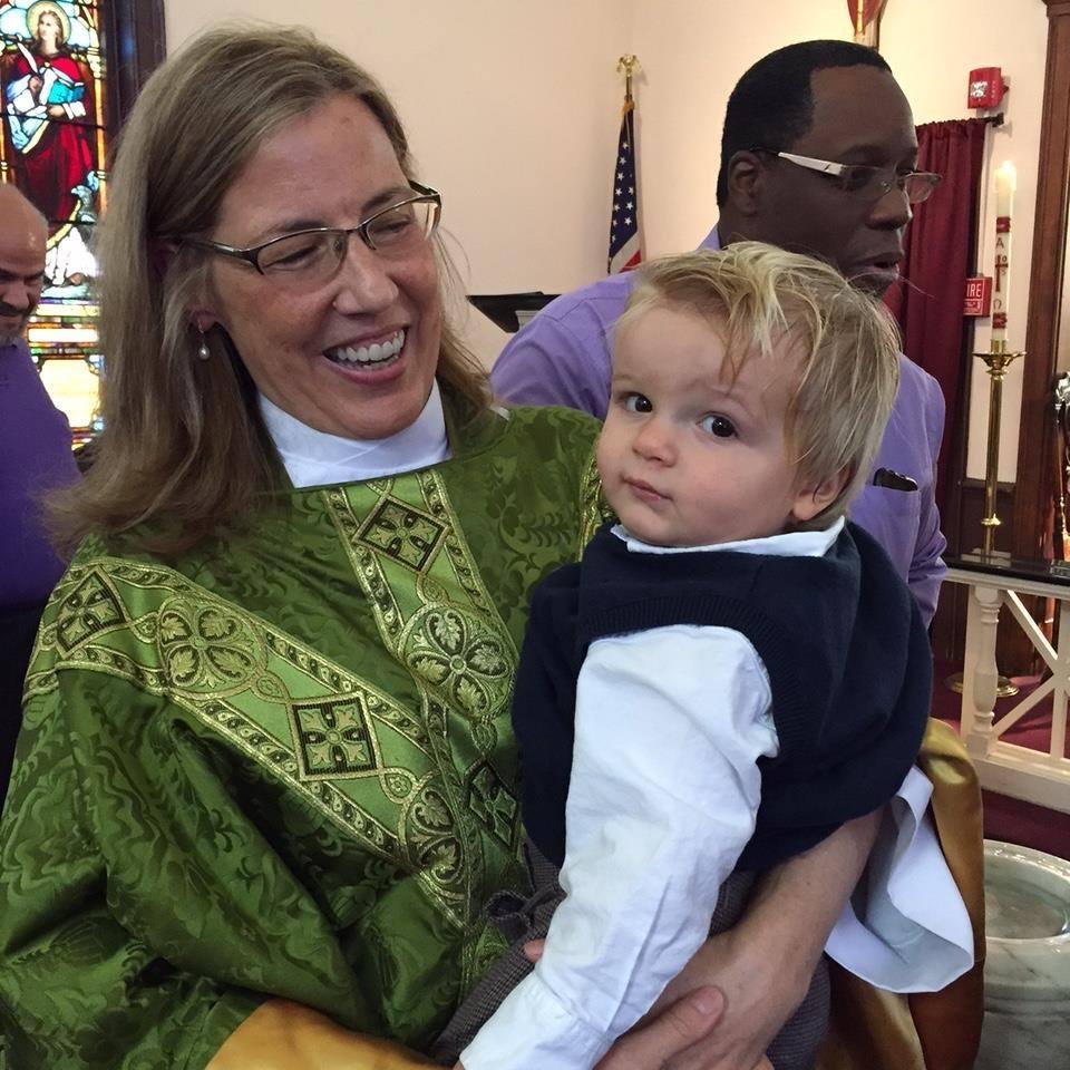 rev-jennie-at-baptism