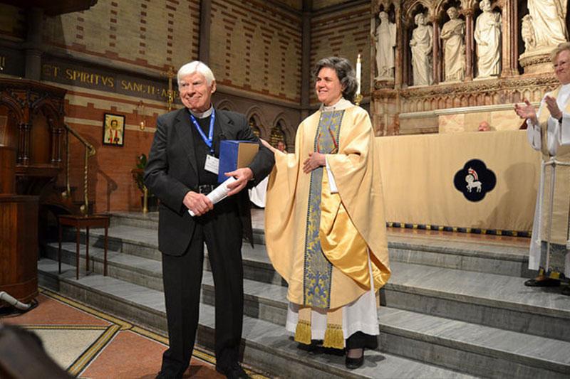 The 2017 Distinguished Alumni Award Winner, The Rev. Steven E. Hulme
