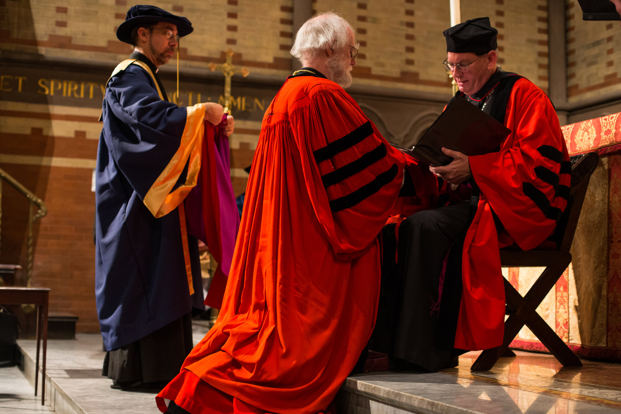 Conferral of honorary degree on Rowan Williams