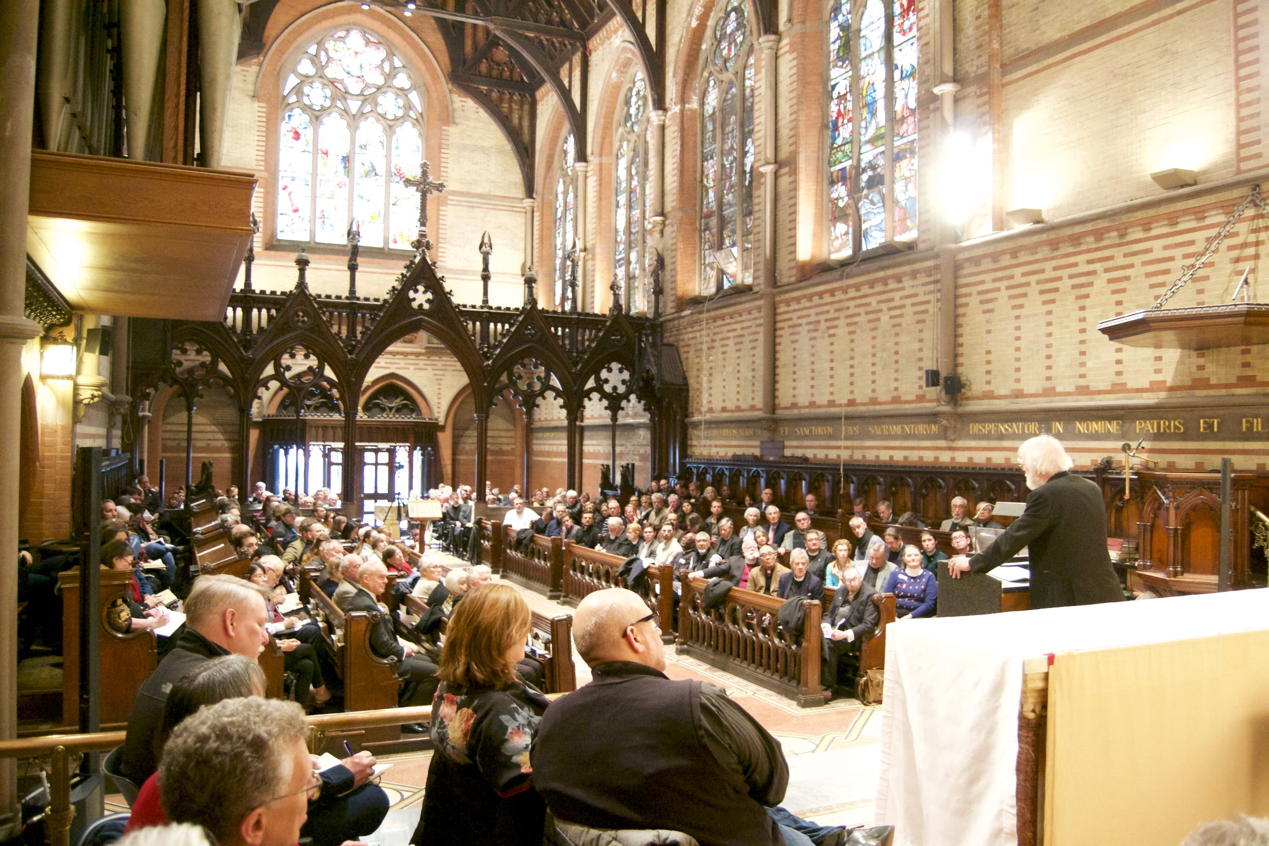 Paddock Lectures,  45 Years of Being Christian: Rowan Williams at General Seminary.