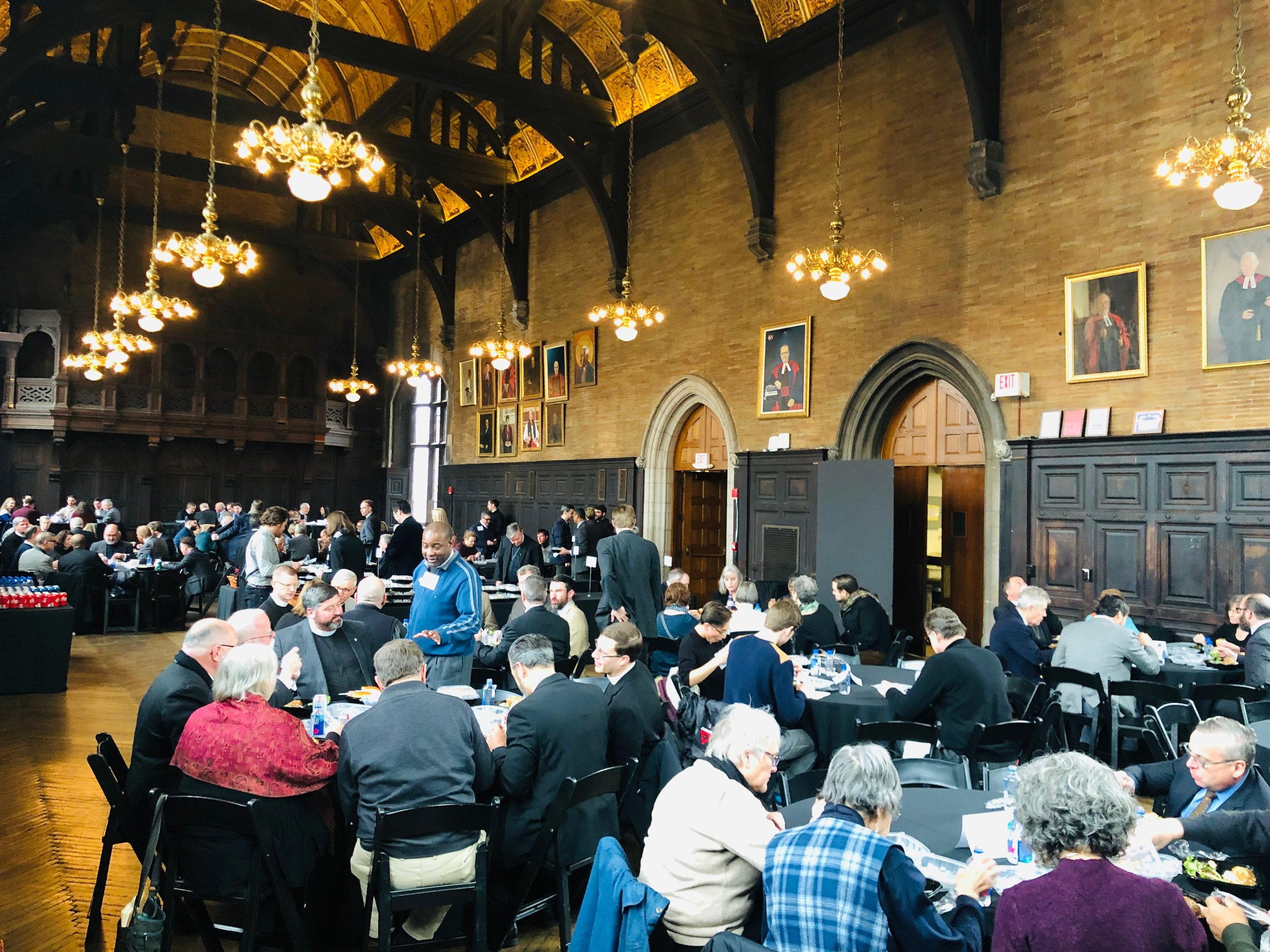 Paddock Lectures Lunch in General Seminary Refectoy.jpeg
