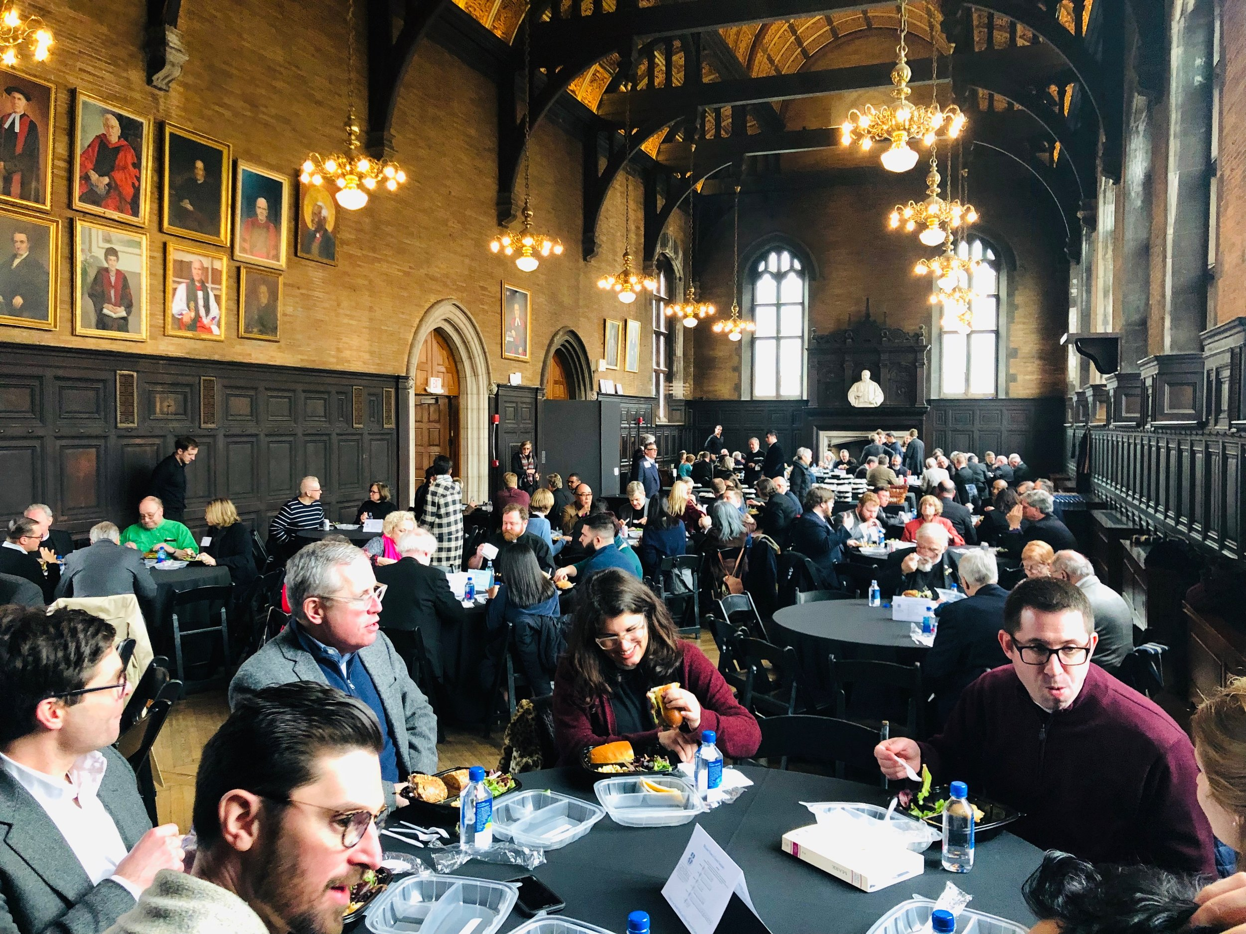 Paddock Lectures Lunch in General Seminary Refectoy2.jpeg