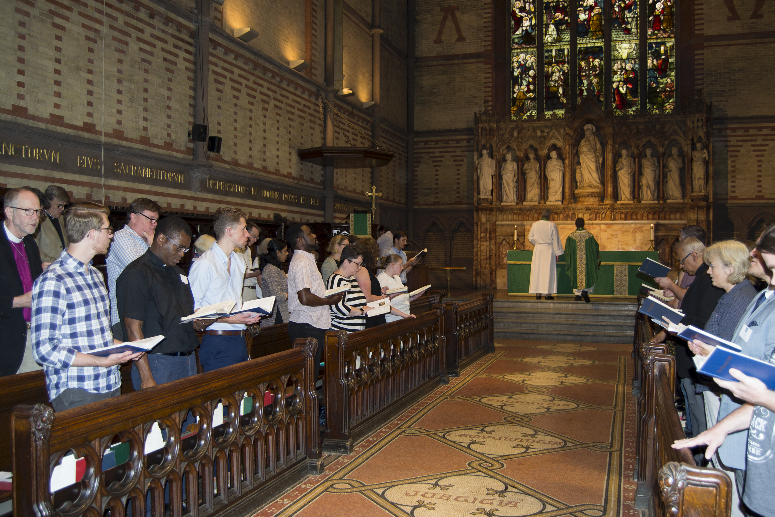 Eucharist during New Student Orientation, August 30 (Photo Credit: Akash Mathew)