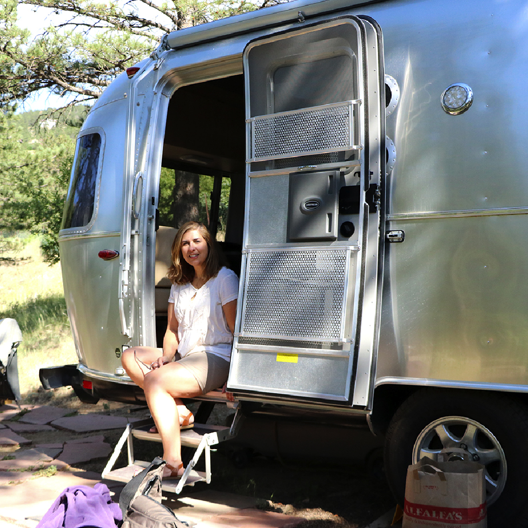 Highlights from Colorado Trip 2018:  - • Staying in this beautiful Airstream.• Hiking at Chautauqua Park.• Flagstaff Mountain Road in Boulder to Artist Point.• Drive up Old Trail Road in Rocky Mountain National Park• Coffee at the Alpine Visitors Center. • Stop at Grand Lake Lodge.• Alpine Slide in Winter Park.• Bowling at The Foundry in Fraser, Co.• Stop at the Buffalo Bill Gravesite/Museum.
