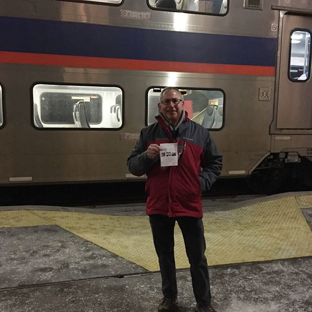 Two of my favorite supporters (and my parents) Jerry and Deborah Scheinberg will be at various train stations in the Eastern Panhandle this week with campaign swag before your morning commute! Make sure to say hi if you see them.  #wvpol #wv02 #ScheinOn
