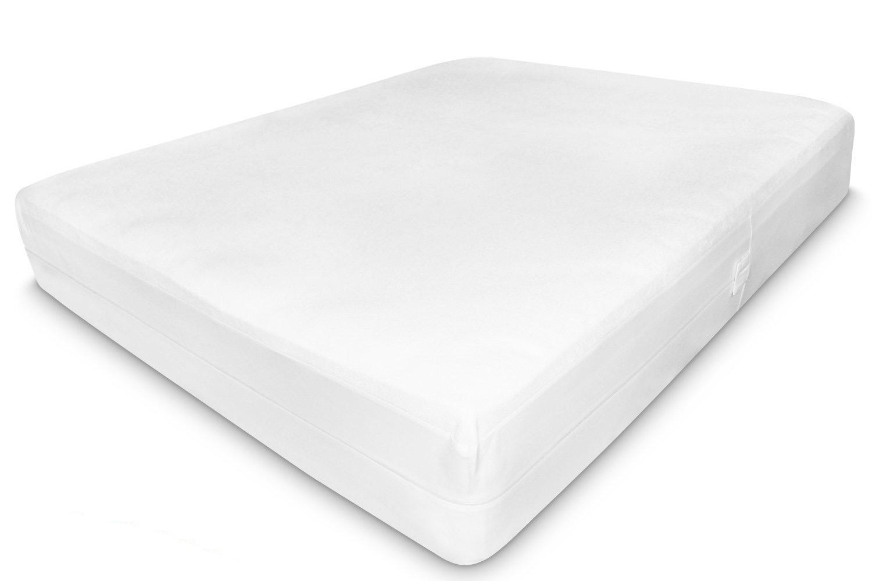 Housse ou couvre-matelas Anti Acariens - Protection complète pour votre matelas, oreillers, sommier et couette de lit