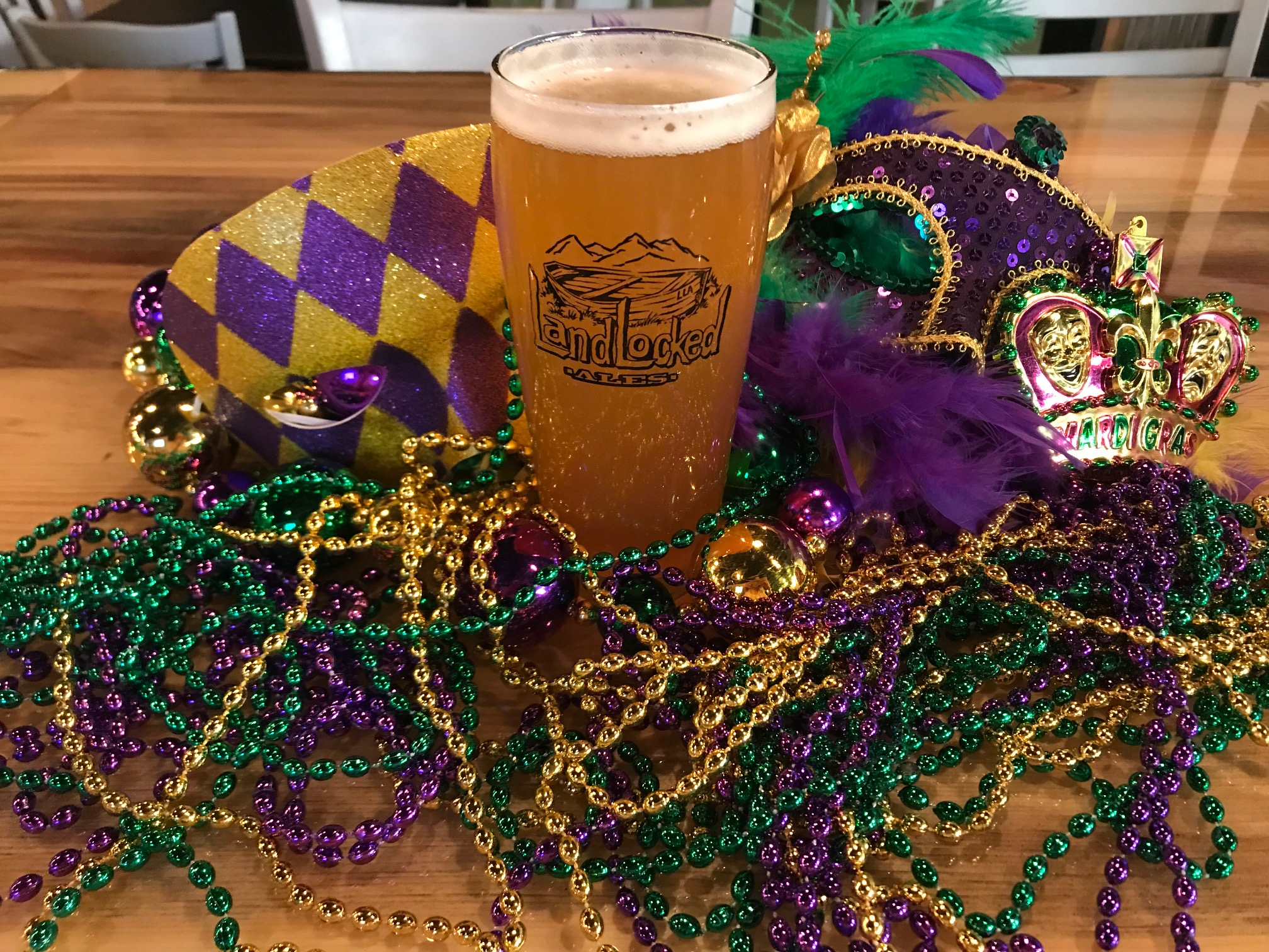 CRAWFISH BOIL - Let's party with Mardi Gras!