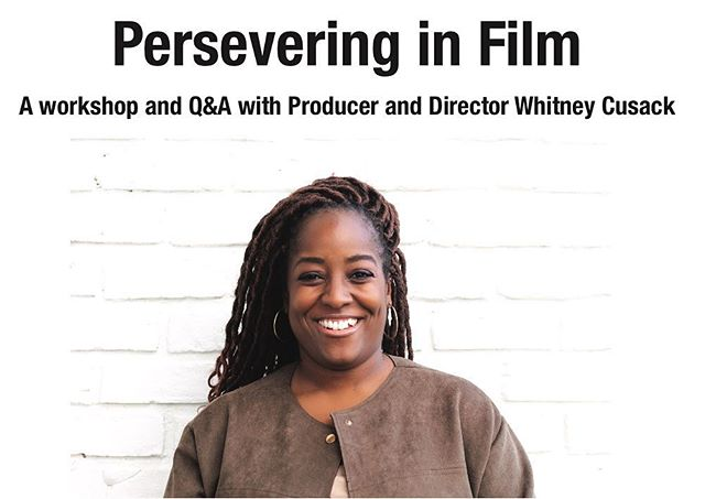 On this #femalefilmmakerfriday huge #shoutout to our Cutter Connections #femalementor, @reelistic1 on her upcoming workshop and Q&A at Lehman College! Whitney is speaking about Persevering in Film🎬 on Monday, April 15th from 3-5pm. Whitney has worked with major clients including Dove, Axe & Suave on many different aspects of content creation such as casting, project management and editing. If you're interested please email music@lehman.cuny.edu #perseveringinfilm  #reelisticmedia #directher #femalefilmmakerfriday #cutterconnections
