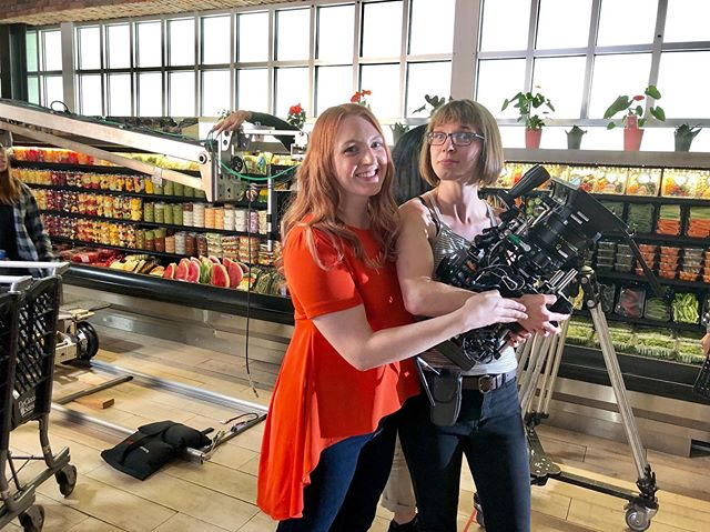 Happy #femalefilmmakerfriday! 🎬🎥 #bts photo from @cutterproductions recent shoot for @lifetimetv helmed by director, @AubreySmyth. #FemaleFilmmakers onset included DP: @caitlinmachak, 1st AD/Producer: @chaotic_niki, 1st AC: @iinnyyrr, Production Coordinator: @sassycupxo, Production Designer: @misstvalexander, Art Coordinator: @lisacmastro, Wardrobe Stylist: @littledoms and Hair/Make-up: Shannon White. #cutterproductions #cutterconnections #FemalePower #HappyFriday #WomenSupportingWomen, #MenSupportingWomen #GenderEquality