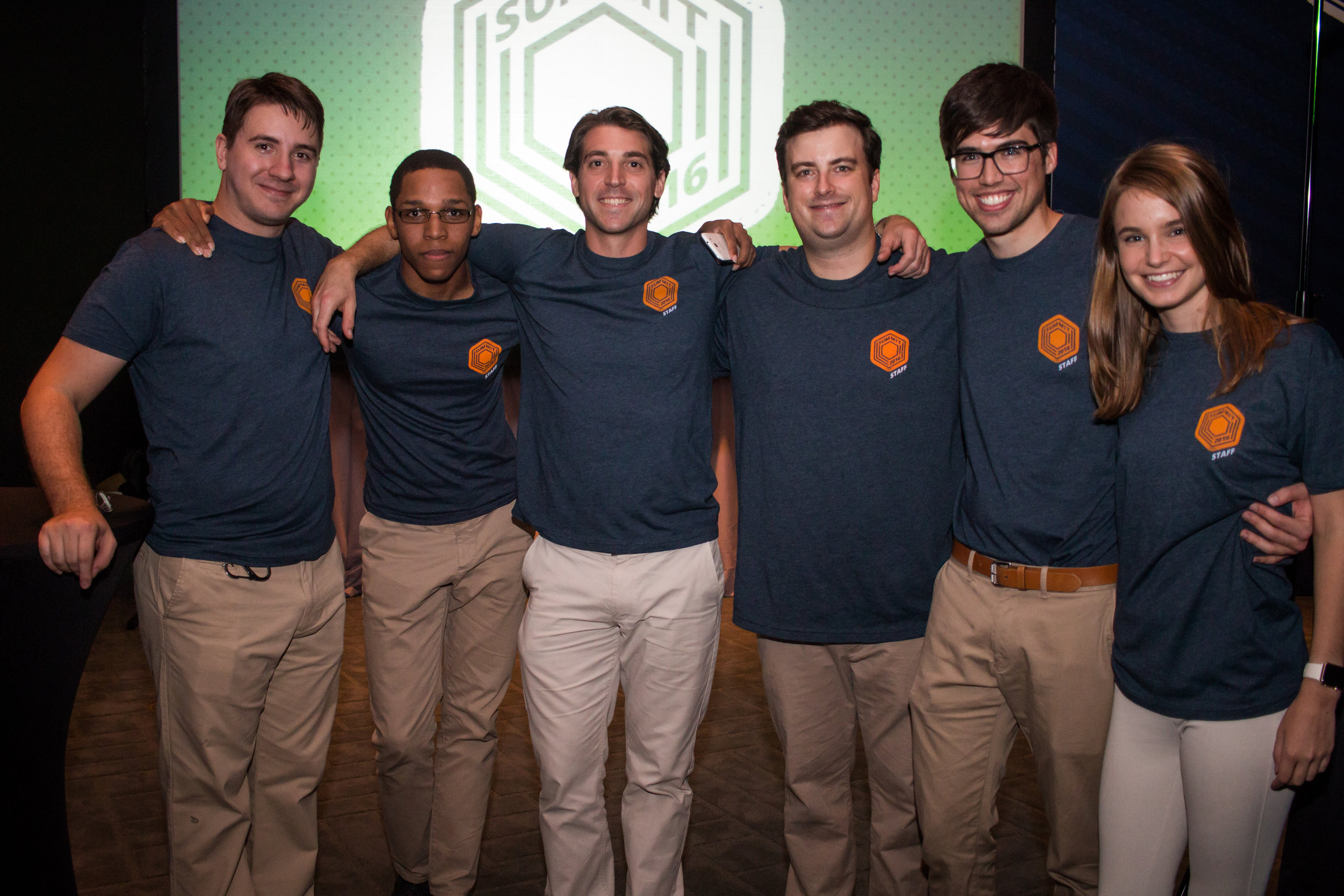 The AugmentedRealityRental.co Team (William Griggs Is fourth from the left)