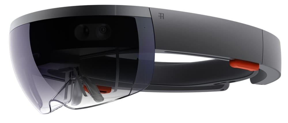 Hololens side view