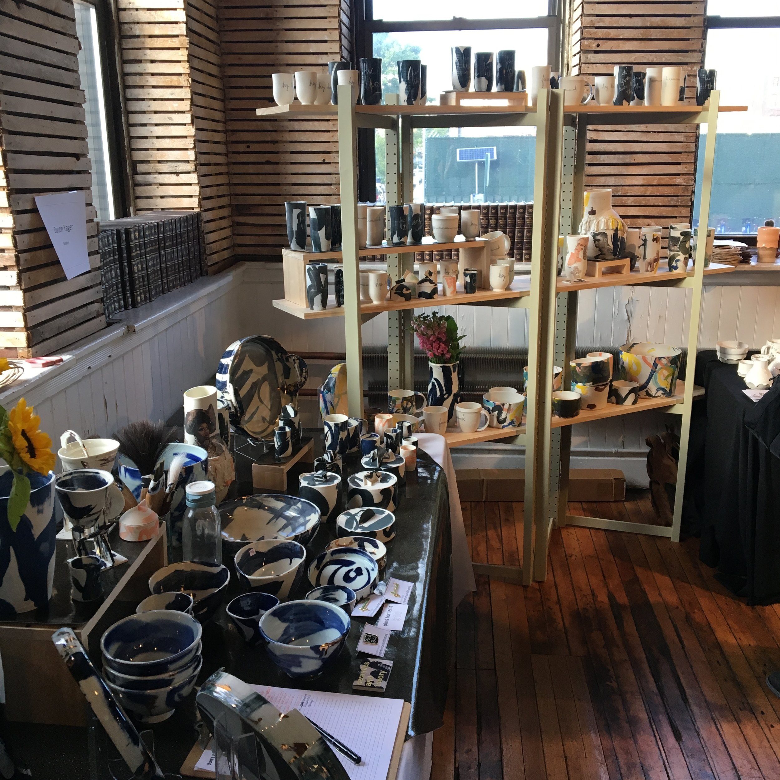 Brooklyn Pottery Invitational, Old American Can Factory, 2017