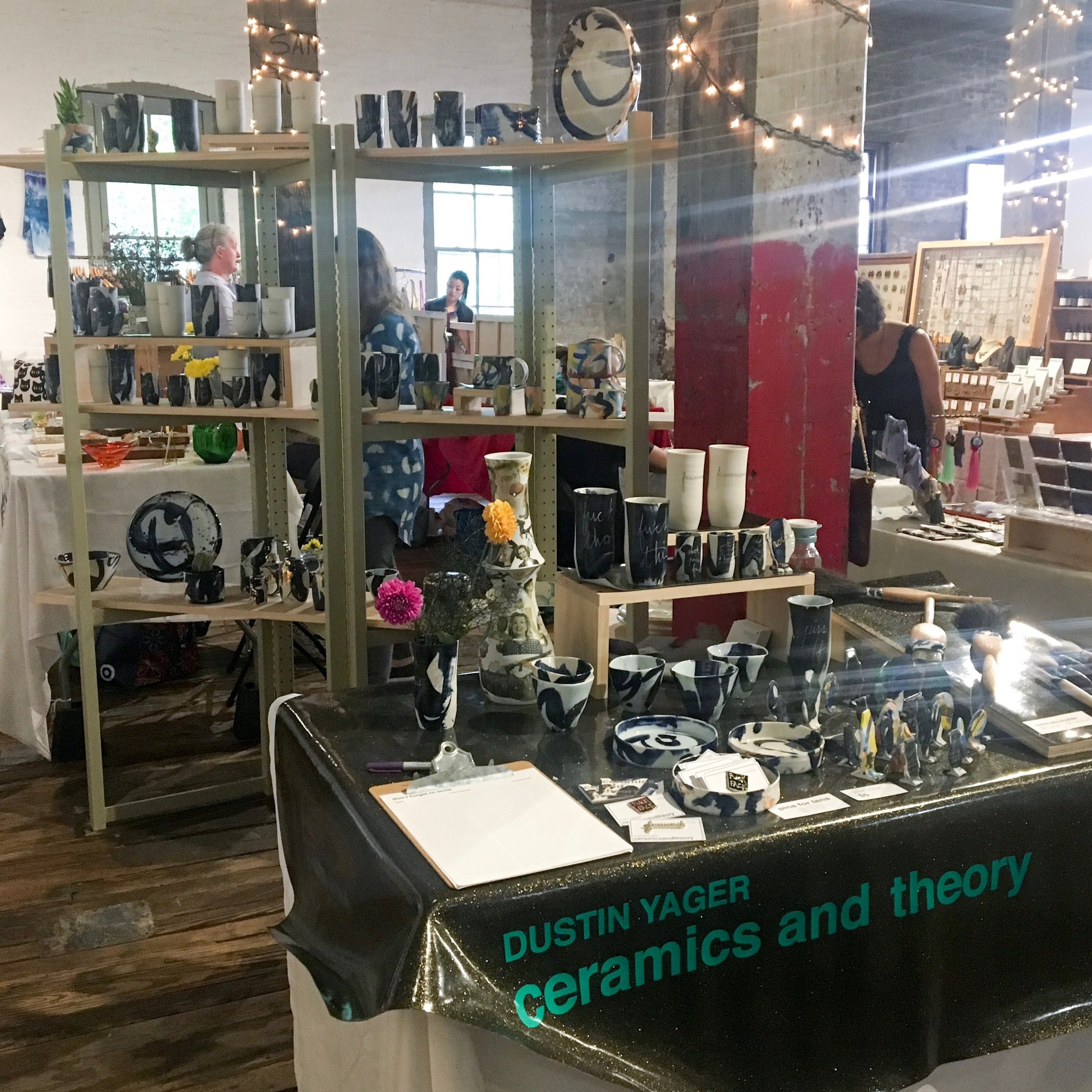 FAD Market, The Invisible Dog Art Center, Boerum Hill Brooklyn 2017